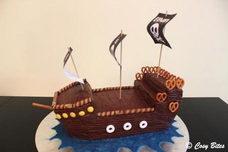 Pirate Ship Cake-1