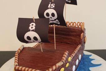 Pirate Ship Cake With Hershey S Chocolate Cake Recipe