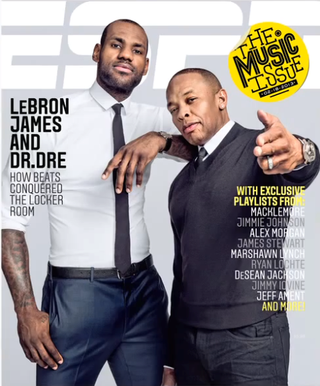 LeBron James x Dr. Dre for ESPN Magazine Music Issue Check out...