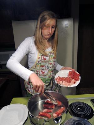 Beef Stroganoff, the adult version