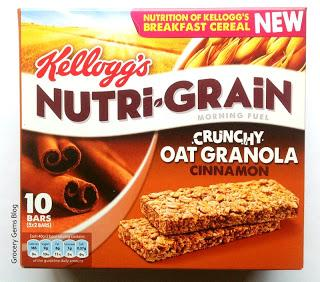 New Kellogg's Nutri-Grain Cinnamon Crunchy Oat Granola