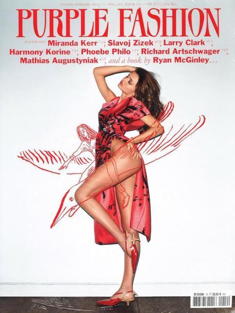 Miranda Kerr by Terry Richardson for Purple Fashion Magazine Spring:Summer 2013