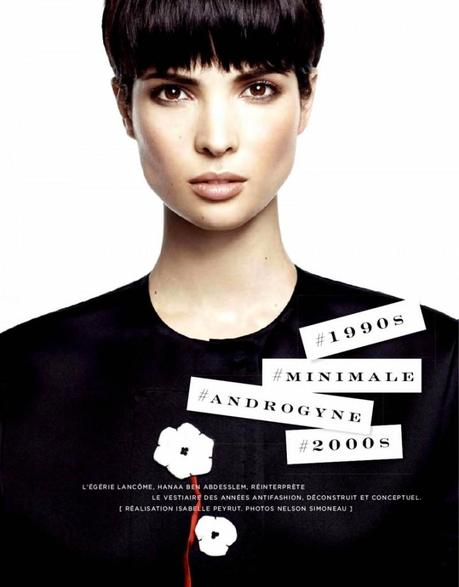 Hanaa Ben Abdesslem by Nelson Simoneau for Be Magazine March 2013