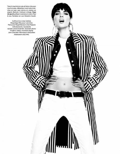 Hanaa Ben Abdesslem by Nelson Simoneau for Be Magazine March 2013 6