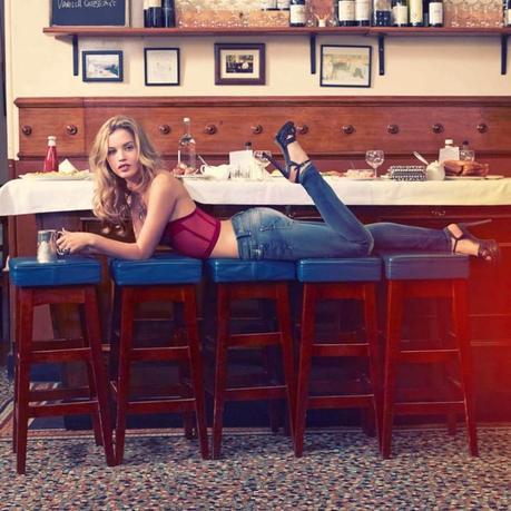 Georgia May Jagger Stars for Hudson Jeans Spring 2013 Campaign by David Mushegain