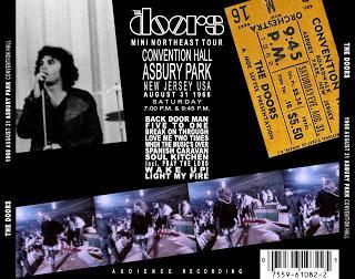 1968-08-31 Asbury Park Convention Hall - Asbury Park, NJ