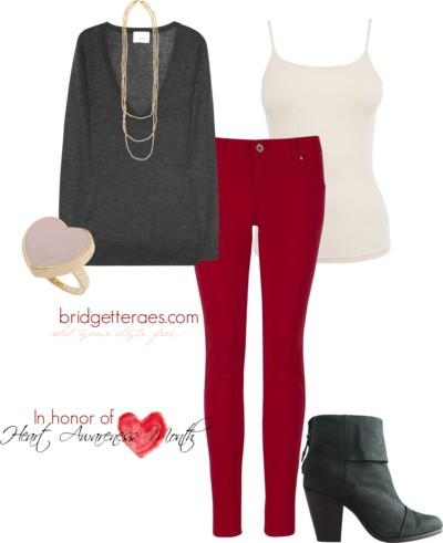 Heart Awareness Fashion