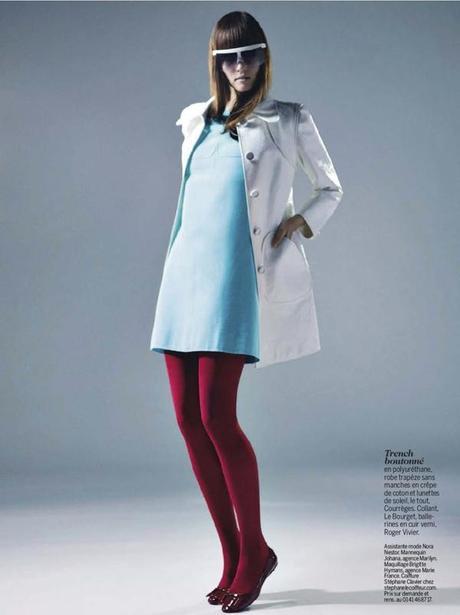 Johanna Szikszai by Thomas Vassort for Cosmopolitan France March 2013 5