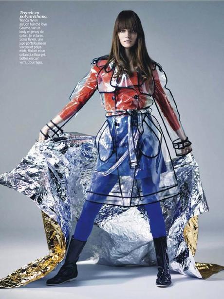 Johanna Szikszai by Thomas Vassort for Cosmopolitan France March 2013 4