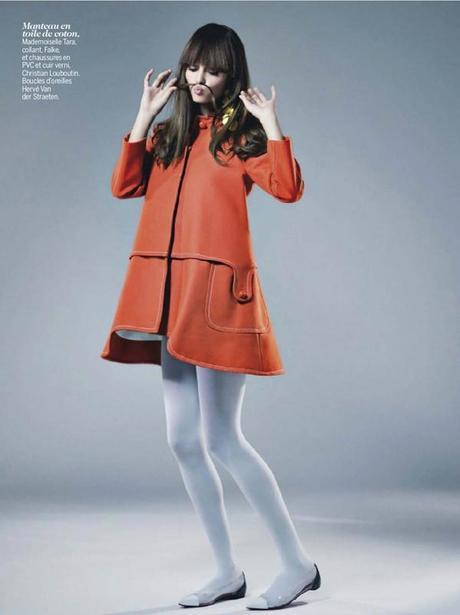 Johanna Szikszai by Thomas Vassort for Cosmopolitan France March 2013