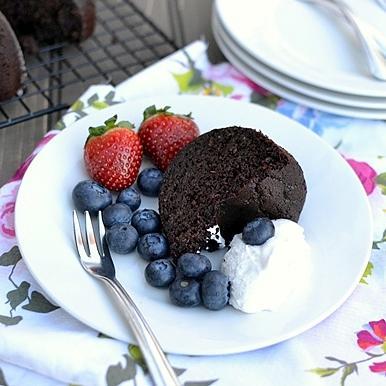 Quinoa Chocolate Cake (Gluten free)