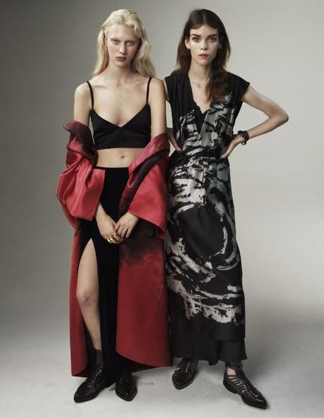 Meghan Collison and Juliana Schurig by Josh Olins Source for UK Vogue March 2013 4