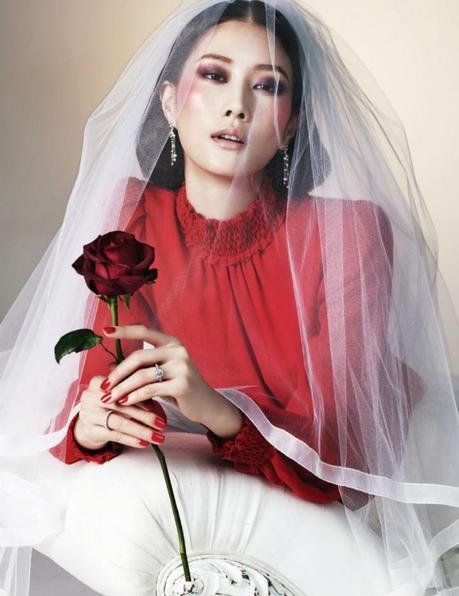 Lee Hyun Yi by Young Kyu Yoo for Harper's Bazaar Korea February 2013 4