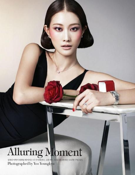Lee Hyun Yi by Young Kyu Yoo for Harper's Bazaar Korea February 2013