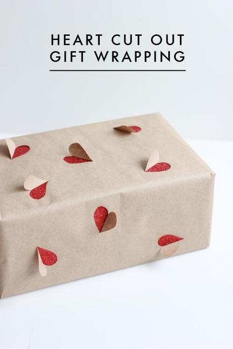 2 simple Valentine's Day gift wrapping ideas