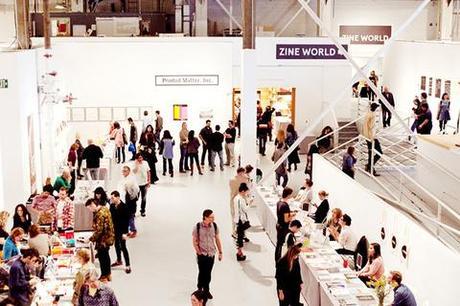 LA Art Book Fair 2013 at The Geffen Contemporary at MOCA.