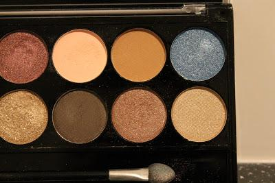 Review || MUA Glamour Days Eye Palette