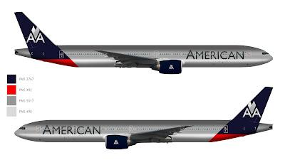 American Airlines Livery New Livery For American
