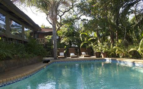 Umlilo Lodge in Saint Lucia, iSimangaliso Wetland Park, South Africa