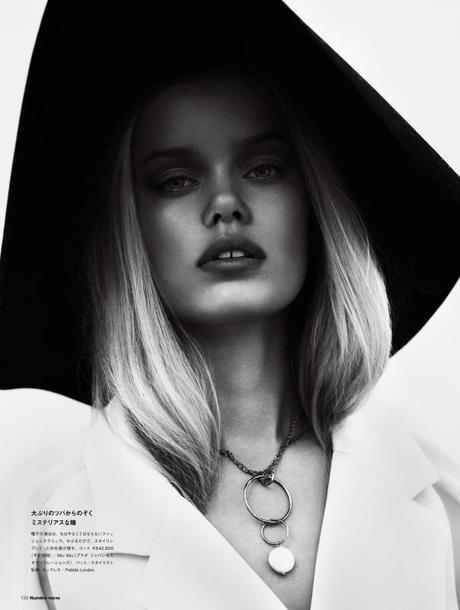 Frida Aasen by Jonas Bresnan for Numéro Tokyo #64 March 2013
