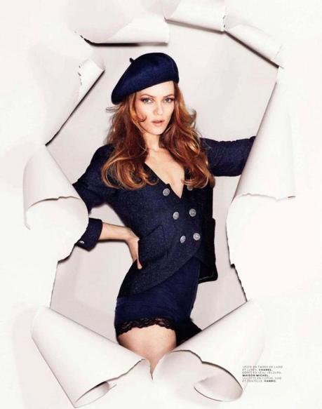 Vanessa Paradis for the Jalouse France September 2012 by Alexei Hay