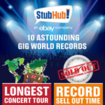 Top 10 Concert World Records