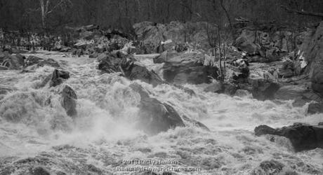 Winter at Great Falls National park