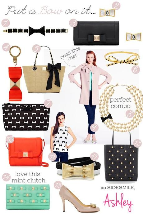 On My Radar: Kate Spade Well Placed Bows
