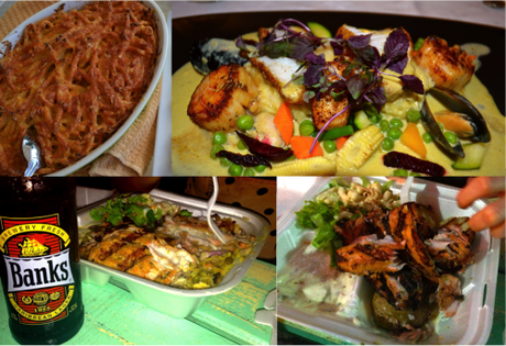Bajan delights: Macaroni Pie, Fine-dining at Tides, Grilled fish meal at Oistins