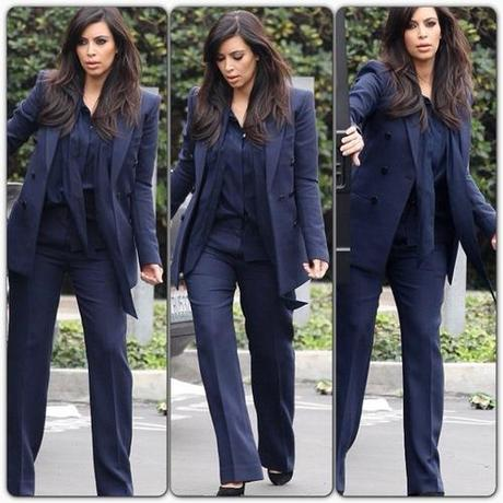 Celeb Style: Kim Kardashian out and about in Miami wearing a...