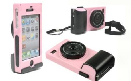 Camera case for iPhone 4 / 4S