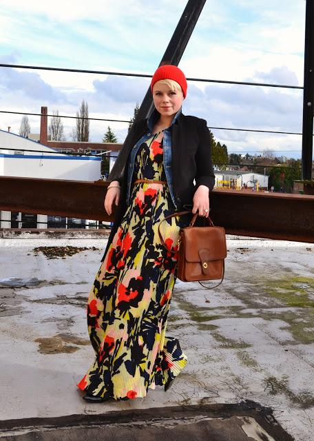 Look of the Day: Rooftop Pleats