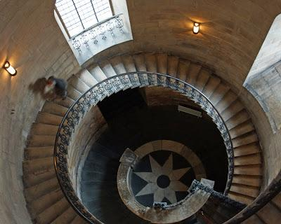 St Paul's Cathedral Geometric Staircase