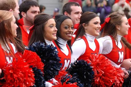 Celebrating Ole Miss' Sick Recruiting Class With Cheerleaders