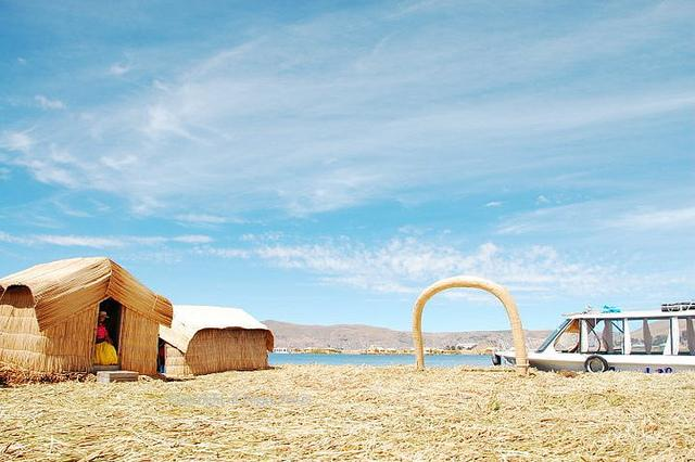 Islands Uros Lake Titicaca