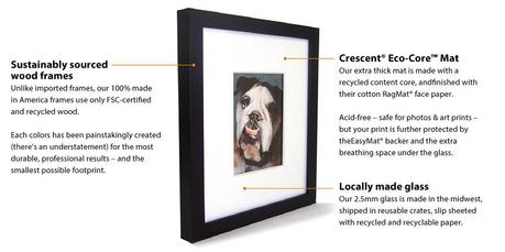 Announcing the winner of the set of Change of Art frames!