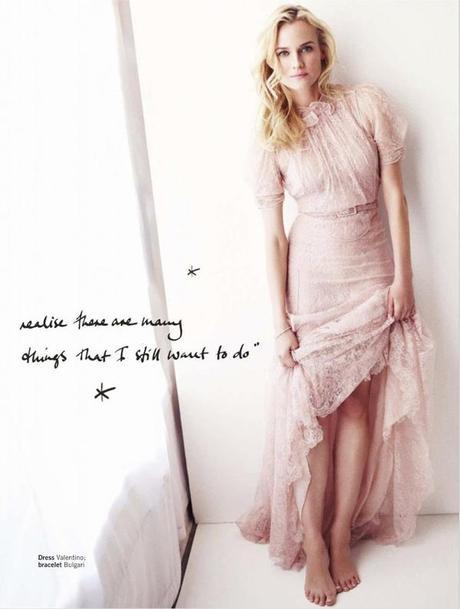 Diane Kruger by Simon Emmett for Glamour UK March 2013 4