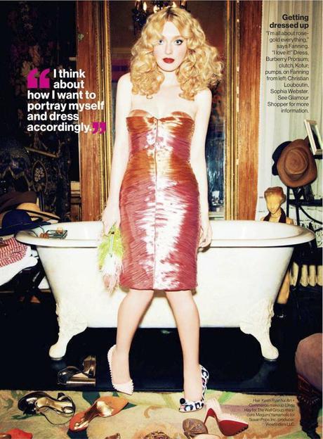 Dakota Fanning by Ellen Von Unwerth for Glamour US March 2013 6