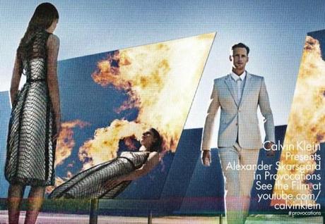 Suvi Koponen and Alexander Skarsgard for Calvin Klein Spring:Summer 2013 2