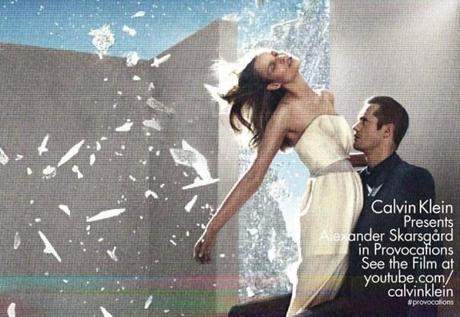 Suvi Koponen and Alexander Skarsgard for Calvin Klein Spring:Summer 2013 4