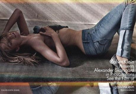 Suvi Koponen and Alexander Skarsgard for Calvin Klein Spring:Summer 2013