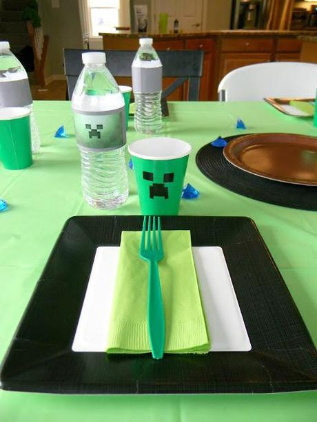 A Fun Minecraft Party!