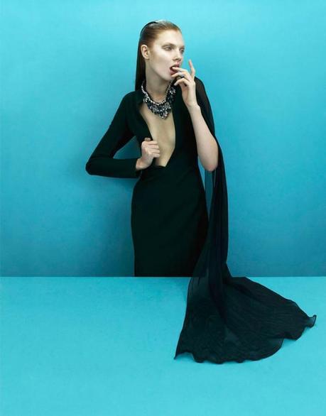 Anastasia Ivanova by Nikolay Biryukov for Used Magazine Online 2