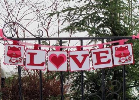LOVE Banner - Valentine's Day Gift Ideas