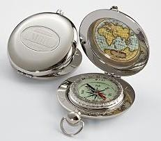 Pocket Compass from RedEnvelope