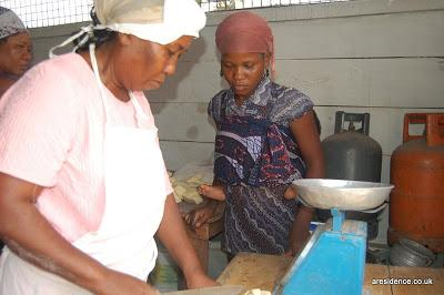A postcard from Ghana - The Virtuous Women's Bakery