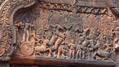 The Intricate Carvings of Banteay Srei & The Ruins of Banteay Samre