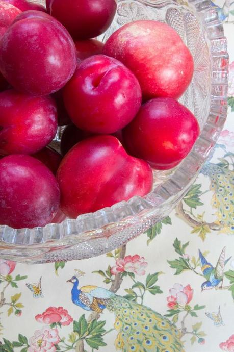 Plums and nectarines