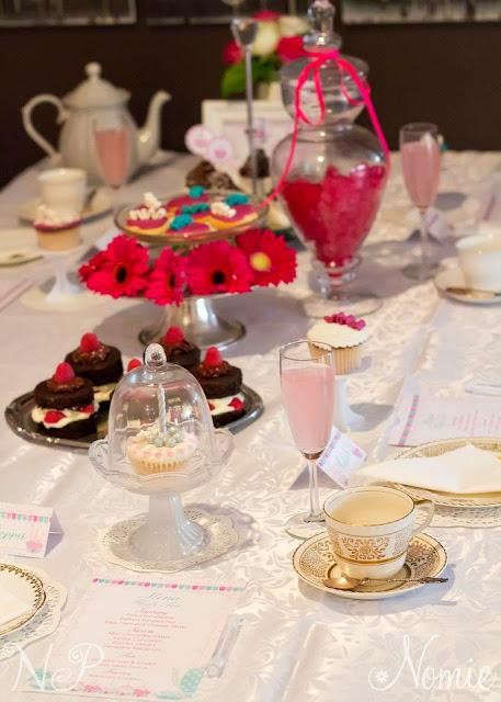 High Tea Party by  Naatje patisserie and Nomie Boutique Stationery