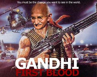 The Ridiculous Suggestion that Ghandi was Pro-Gun